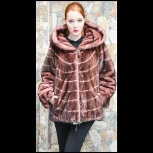 bc51183d6f Marc Kaufman Furs · Hooded Rose Mink Fur ...